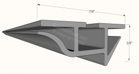 CAD of Gasket Profile 001