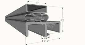 CAD for Gasket Profile 012