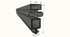 CAD for Gasket Profile 034
