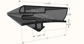 CAD for Gasket Profile 10-057