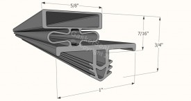 CAD for Gasket Profile 10-101