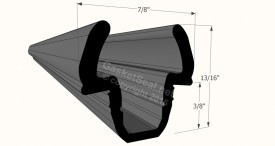 CAD for Gasket Profile 13-595