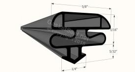 CAD for Gasket Profile 1536