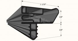 CAD for Gasket Profile 1563