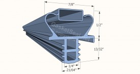 CAD for Gasket Profile 357