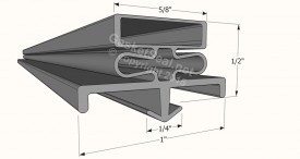 CAD for Gasket Profile 436