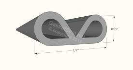 CAD for Gasket Profile 47-100