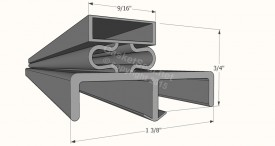 CAD for Gasket Profile 508