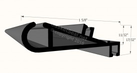 CAD for Gasket Profile 58-409