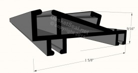 CAD for Gasket Profile 58-422