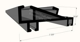CAD for Gasket Profile 58-422