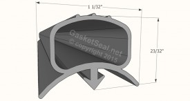CAD for Gasket Profile 672