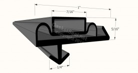 CAD for Gasket Profile 7001