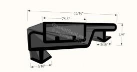 CAD for Gasket Profile 8001