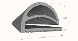 CAD for Gasket Profile 804