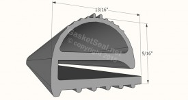 CAD for Gasket Profile 848
