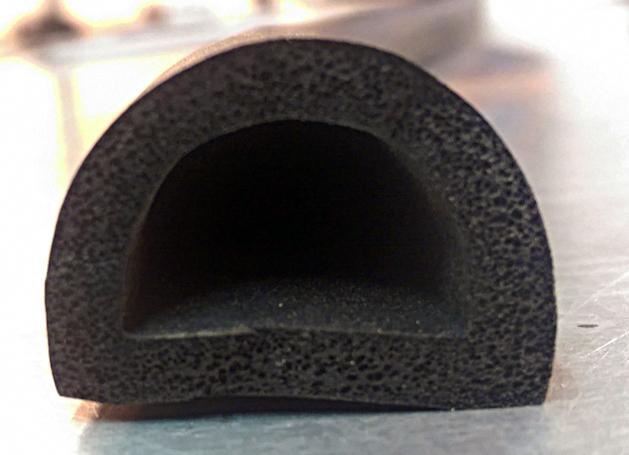 Gasket D-Foam Profile