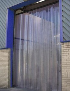 Commercial Door Kits with Strip Curtains